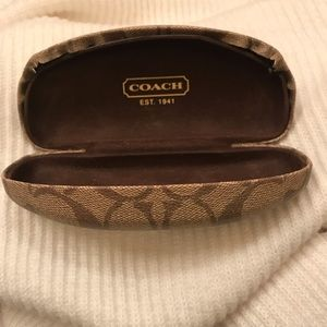 Coach hardshell sunglasses case
